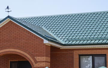 classic Tan Office metal roof design
