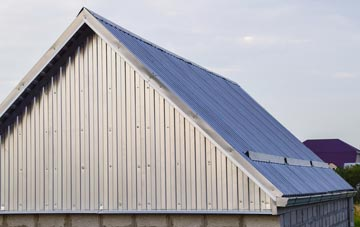 disadvantages of Tan Office corrugated roofing