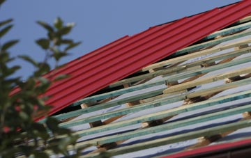Tan Office corrugated roofing costs