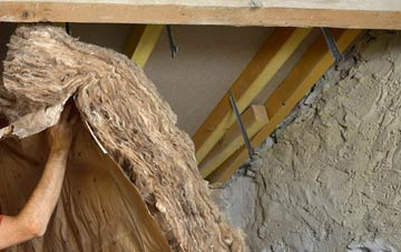 Tan Office pitched roof insulation costs