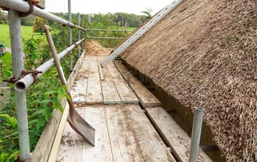 advantages of Tan Office thatch roofing