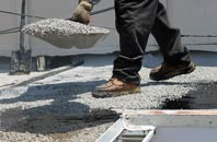 find rated Tan Office flat roofing replacement companies