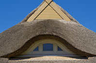 Tan Office thatch roofing